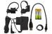 CatEye Econom 20 - Set luces a pilas - HL-EL345G + TL-LD611G negro